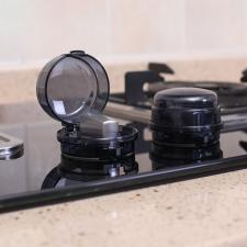 Защита конфорок плиты от включения черный