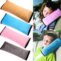 Подушка на ремень безопасности серая