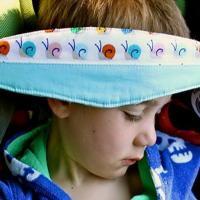 Повязка для ребенка для сна в автокресле