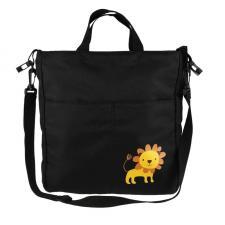 Органайзер-сумка с плечевым ремнем черная