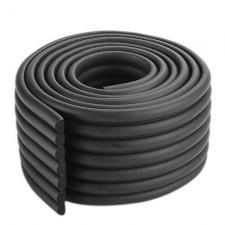Защитная лента на углы широкая черная