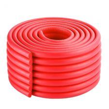 Защитная лента на углы широкая красная