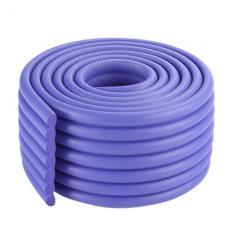 Защитная лента на углы широкая фиолетовая
