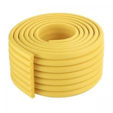 Защитная лента на углы широкая желтая