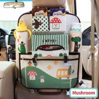 Детский органайзер в машину зеленый