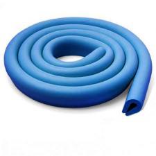Защитная лента на углы для детей U темно-голубая