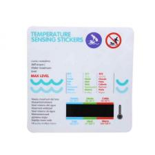 Наклейка - термометр на детскую ванночку
