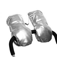 Муфты-варежки МиМиМи «Серебро»