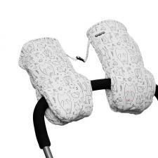 Муфты-варежки МиМиМи «Whitebear»