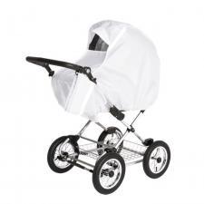 Дождевик для коляски универсальный Bambola белый люлька
