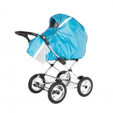 Дождевик для коляски универсальный Bambola голубой люлька