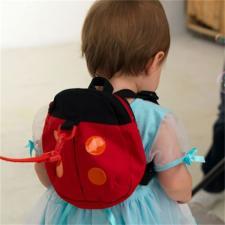 Рюкзак детский с поводком Божья коровка