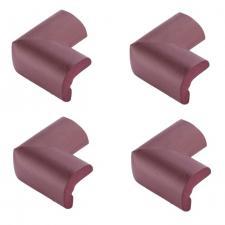 Защитные уголки для мебели 4 шт венге Г-профиль