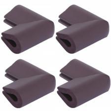 Защитные уголки для мебели 4 шт венге П-профиль