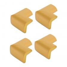 Защитные уголки для мебели 4 шт дерево Г-профиль