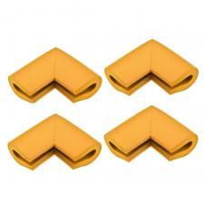 Защитные уголки для мебели 4 шт дерево П-профиль