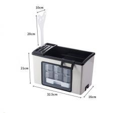 Органайзер для специй и столовых приборов 2 в 1 L