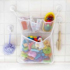 Сетка для игрушек в ванную с карманами