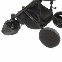 Чехлы для колес коляски с поворотными колёсами