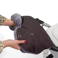"""Муфта для коляски из натуральной шерсти """"Chocolat"""", Esspero Four Lux"""