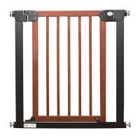 """Ворота безопасности для детей """"Темное дерево"""" 75-85 см"""