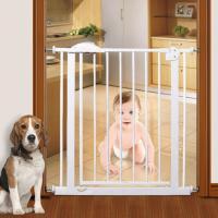 """Ворота безопасности для детей """"Белые"""" 75-85 см"""