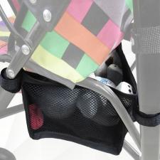 Черная корзина для коляски