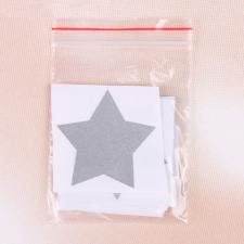 Светоотражающая наклейка «Звезда», 5 × 5 см